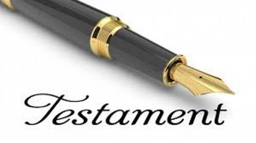 Interprétation des termes d'un testament par le Juge